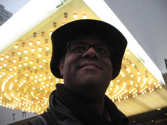 Bill outside the Guggenheim Museum