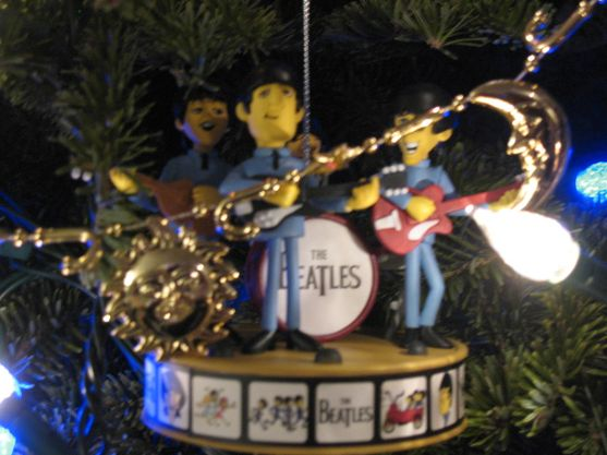 Beatles in a tree