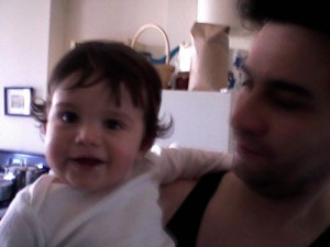 Superboy and his daddy