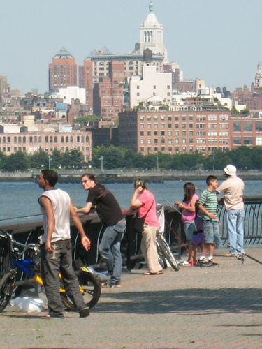 Fishing in Hoboken
