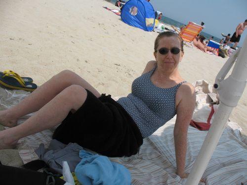 Annemarie in shade
