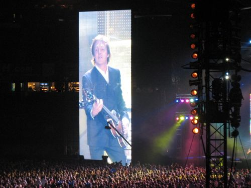 100 foot Macca on a musical rampage