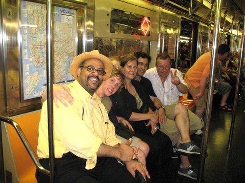 the train ride back