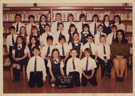 Miss Gaudio's class Grade 4A 1971-72