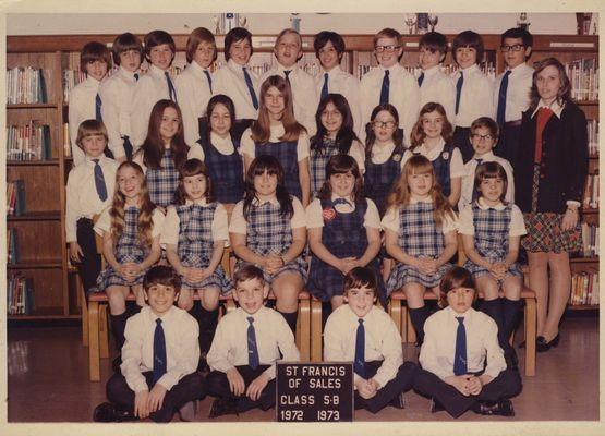 Miss Vendermere's 5th grade class 1972-73