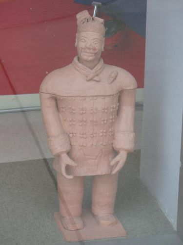 Tiny terracotta warrior @ a Cooperative school
