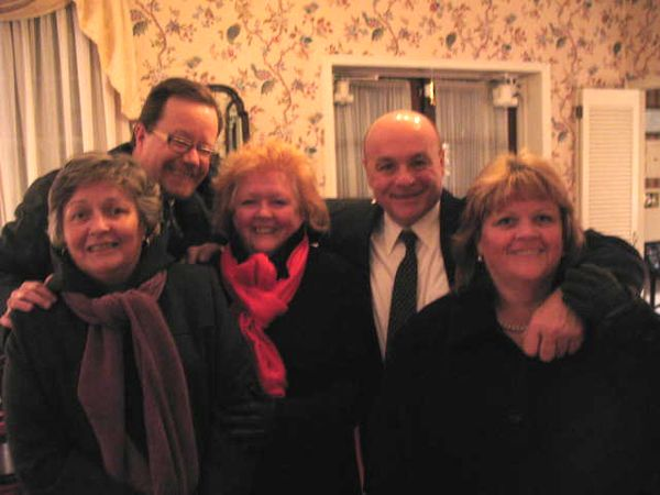 Eileen, Me, Rosie, Joe and Madelyn- The Powers cousins