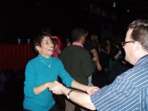 Lisa & me dancin' dancin' dancin'! Photo by Rand