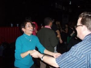 Lisa & me dancin' dancin' dancin'! Photo by Rand