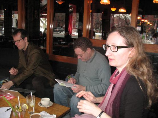 Rand, Steve H, Lois