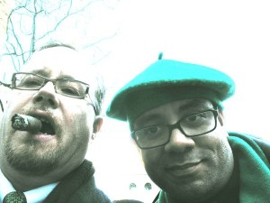 Me & Bill St. Pats NYC 2008