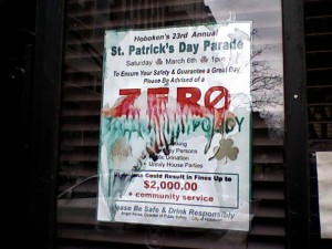Let this be a warning to you if you're planing on attending Fake Patricks Day this Saturday