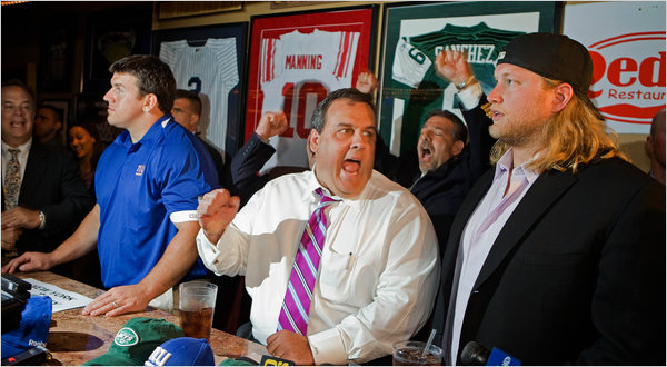 "NJ Governor Chris Christie: ""Where's my CAKE?"""