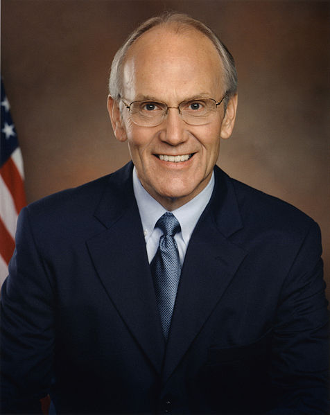 Anti Gay Larry Craig, arrested for soliciting an undercover cop in a MPLS restroom