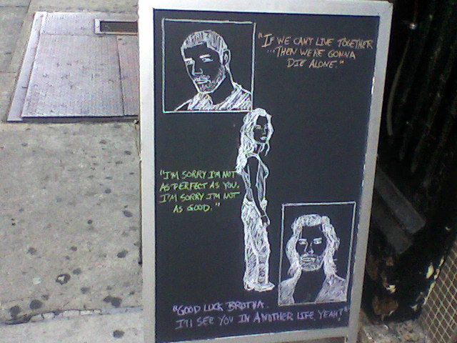 seen on Eighth Avenue