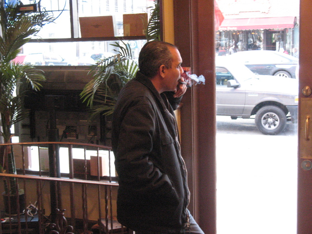 Cigar shop guy