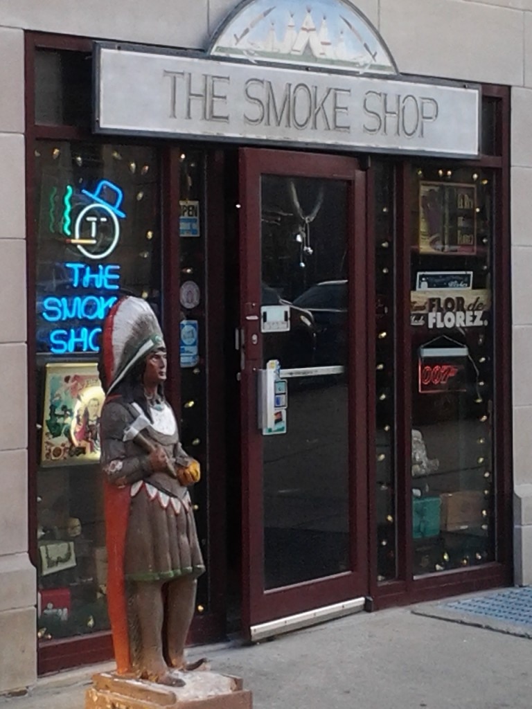 There it is, The Smoke Shop