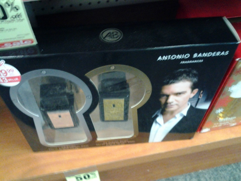 You can smell like Antonio Banderas