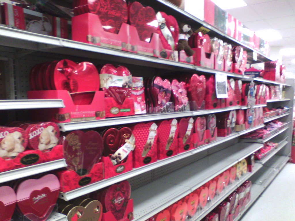 and now they're getting ready for Valentine's day